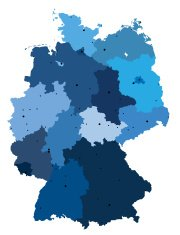 Germany Detailed Map