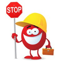 Hard Hat Dude Says Stop