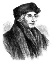 a biography of desiderius erasmus a theologian Desiderius erasmus, 1466-1536: the dutch humanist, desiderius erasmus, was born at rotterdam, apparently on october 28, 1466, the illegitimate son of a physician's daughter by.
