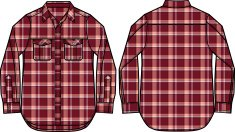 men check pattern shirt