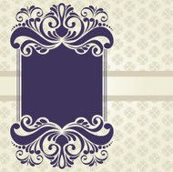 ornament background and banner