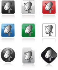 Communication Buttons satellite