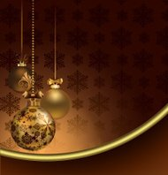Elegant Christmas Dark Brown Background.