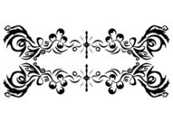 Decorative ornament (vector & jpeg)