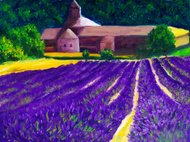 Oil Painting - Countryside