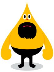 yellow security guard character