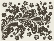 Decorative ornament, Vector