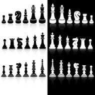 Chess pieces - Black Series