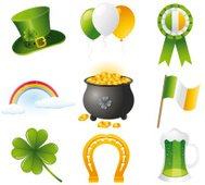 St. Patrick`s day icons