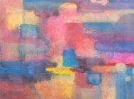 Pastel Abstract Painting