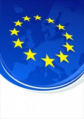 European Union background with space for copy