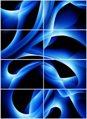 abstract blue waves Backgrounds