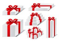 Red Ribbon Bow Gifts