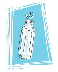 Sketchy Bottle Icon