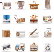 Online Shop and web site icons