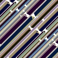 Lines abstraction seamless pattern.