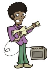 Funky Guitar Player