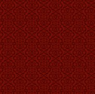 Damask Red Pattern