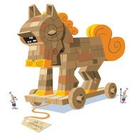 Trojan Horse Cartoon