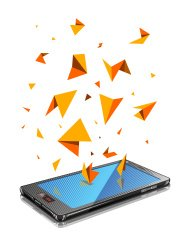 Abstract design on Smart Phone