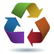 Colourful Recycling Symbol