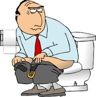 Cartoon Toilet Premium Clipart