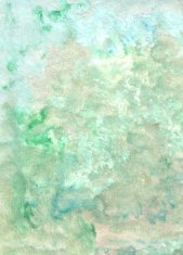 oil painted textured abstract background in green and white