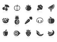 Fruits and Vegetables icons 1