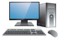 Desktop Computer Workstation
