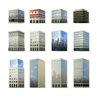 Office Building Icons