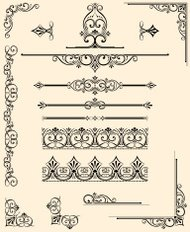 Dividers, Corners and Scrolls