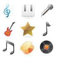 Icons for music