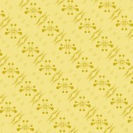 Retro Wallpaper Series Creme