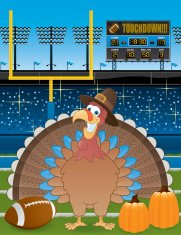 Thanksgiving Football Field