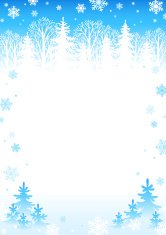 Winter day background