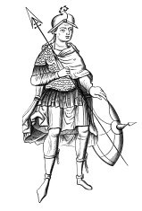Soldier of the sixth century