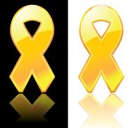 Yellow Ribbon Icons
