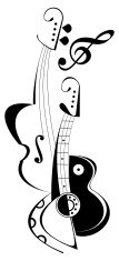 Musical instruments - vector illustration