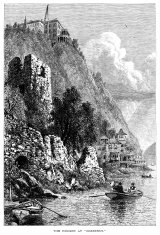 Hudson River at Cozzens's (Victorian engraving)
