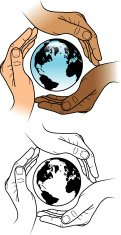 Protected globe