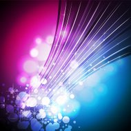 Abstract shiny background design with sparkling stars.