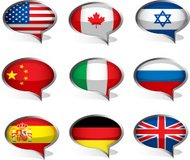 Set of flags.