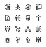Business management ,strategy and human resource icons | prime s