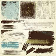 Abstract Grunge Elements