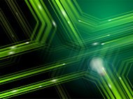 Web traffic abstract background