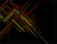 Diagonal Orange and yellow lines in dark background