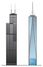 Willis Sears Tower One World Trade Center