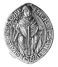 Seal: the Abbey of St. Denis