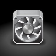 Icon for computer cooler