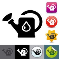 Watering can icon | solicosi series